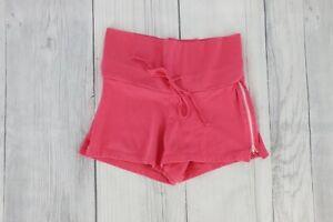 No Boundaries Stretch Vintage 90s Mini High Waist Shorts Size Small Pink 3/5