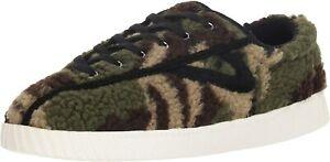TRETORN Women's Nylite18plus Sneaker, Green, Size 4.0