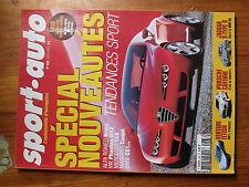 $$t Revue sport auto N°483 Alfa Romeo Brera  Mercedes CLK  BMW CS1  Cayenne