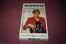Reporting Live by Lesley Stahl 1999 Nonfiction AUDIO