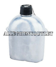HEAVY DUTY ALUMINUM CANTEEN GI Style Military 1 QUART 32 oz. 1 QT NEW