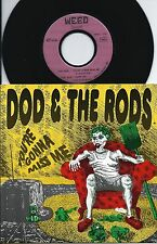 "DOD & The RODS  You're gonna miss me FRENCH 7"" 45 WEED Rds GARAGE PUNK - NMINT"