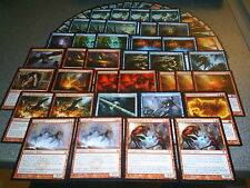 MTG Magic MODERN Red Blue FLASHBACK DECK Galvanoth Charmbreaker Devils ISD M12