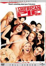 American Pie (DVD, 2007, Full Frame) Jason Biggs Chris Klein Alyson Hannigan