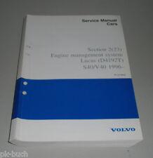 Service Manual Volvo S 40 / V 40 Engine Management System Lucas ( D 4192 T )