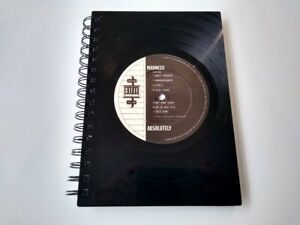 Madness, Absolutely, Vinyl Record A5 Notebook gift