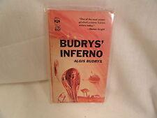 Budrys Inferno Paperback Book Berkley F799 Algis Budrys 1963
