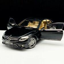 Autoart 1/18 Mercedes-Benz CL63 AMG Die-Cast Model Car Black