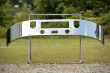 Mack CXU 613 Chrome Bumper With Brackets and Fog Cutouts Included. Made in USA