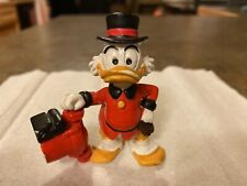 Disney Duck Tales Figure Scrooge McDuck Pvc 2.75� With Grundfos Pump - Very Rare