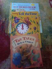 Best Word Book Ever Giant Little Golden Richard Scarry  nursery books bundle kid