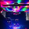 1PC Cool Mini Car USB Atmosphere Light DJ RGB Magic Colorful Music Control Lamp