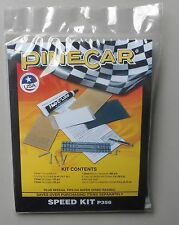 SPEED KIT PINECAR DERBY CAR MODEL SPEED ACCESSORY 356 AXLES SANDPAPER WEIGHTS