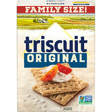 12.5 Ounce Box Triscuit Original  Crackers Family Size