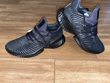 **New** Adidas Alphabounce Instinct Black Carbon Running Shoes Size 9.5M D96805