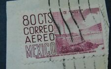 Mexico 1953 Airmail, 80c, Mexico City University Stadium,(Collectible Stamps)