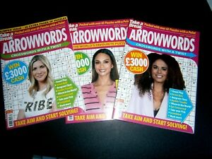 3 Take A Break Arrowwords  November, December, January  (new) 2020/2021