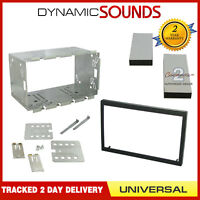 DFPK-113 CD Stereo UNIVERSAL 110mm Double Din Fascia Panel Fitting Cage Kit
