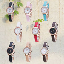 Ladies Small Case Quartz Leather Watch Casual Delicate Simple Fashion Watch