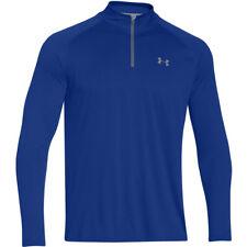 Under Armour Mens Royal Blue Tech 1/4 Zip Long Sleeve Top Size L BNWT