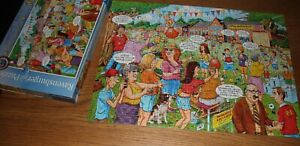 RAVENSBURGER PUZZLE jigsaw SCHOOL SPORTS DAY 500 pc complete vgc GERMANY