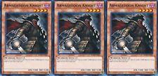 Armageddon Knight SDPD-EN018 X 3 1st Mint YUGIOH Cards