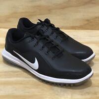 Nike Lunar Control Vapor 2 Black White Silver Mens Golf Shoes Multi Size