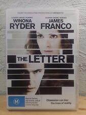 The Letter DVD - James Franco Movie R4
