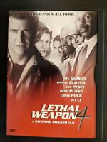 Lethal Weapon 4 (DVD, 1998)