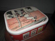 Hergé-Tintin-boite de collection petit 20eme-Tintin,Dupont(d),cigares du pharaon