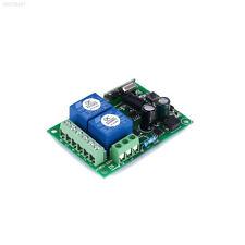 051E 220V 433MHz 2CH Interruptor de control remoto inalámbrico RF Relé módulo de receptor