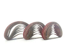 3/8 Inch X 13 Inch Aluminum Oxide Cloth Sanding Air File Belts(30 Pack,150 Grit)