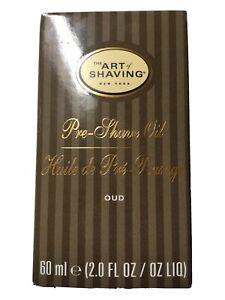 The Art of Shaving OUD Pre Shave Beard Oil - Shaving Oil for Men 60 ml 2.0 fl oz