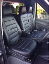 VW TRANSPORTER T5  VAN SEAT COVER  BLACK QUILTED  A120BK READY FOR DISPATCH!!!