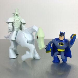 DC Universe Action League / Brave and Bold BATMAN vs GENTLEMAN GHOST & HORSE set