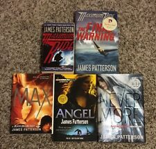 Lot of 5 Maximum Ride Books By James Patterson