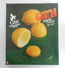 Avalon Hill Incredible Edibles Jigsaw Puzzle 1000 Pieces Complete! R13862