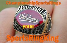 1984 OKLAHOMA SOONERS OU NCAA BIG 8 CHAMPIONSHIP 10K GOLD RING 1 OF A KIND RARE