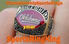 1984 OKLAHOMA SOONERS OU NCAA BIG 8 CHAMPIONSHIP 10K GOLD RING 1 OF A KIND RARE
