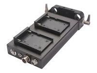 DSLR 15mm Rod Clamp NP-F970 or F550 Battery Power Supply For EOS 550D 600D 700D