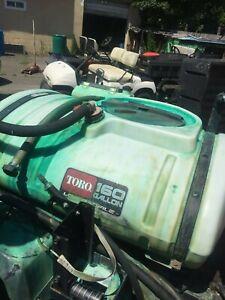TORO MULIPRO 1200 BOOM SPRAYER machine tank & parts