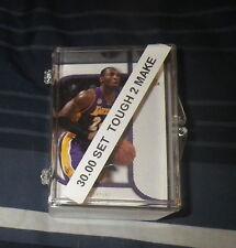 2007 08 SP ROOKIE THREADS BASKETBALL ( 42 ) CARD SET - TOUGH TO MAKE KOBE LEBRON