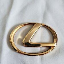 2 x 3D LexusSTYLE Door Step Emblem Logo plate Sills Badge Sticker