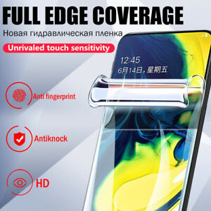 For Samsung Galaxy S21+ Note 20+ S10 Soft Full Cover Front Back Screen Protector