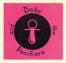 BABY & THE PACIFIERS rare private 1981 Atlanta NEW WAVE, BLUE WAX w/ PIC SLEEVE