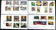 Bhutan 1978 FDC 688-713 Freimarken Aufdruck Schmetterlinge Raumfahrt Pfadfinder