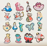 "34 Pcs Alice In Wonderland Printed Die Cuts Embellishments Punches 2""H"
