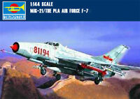 Trumpeter 01325 1/144 Scale PLA Air Force F-7Ⅱ/MIG-21 Fighter Assembly Model Kit