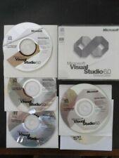 Microsoft Visual Studio 6.0 6 Enterprise BASIC FOXPRO C++ Service Packs 1 to 6