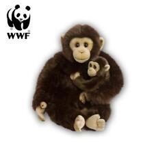 WWF Plüschtier Schimpanse Mutter mit Baby (30cm) Kuscheltier Stofftier Affe NEU
